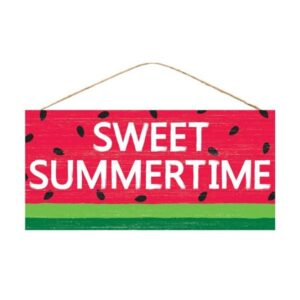 "12.5""L X 6""H SWEET SUMMERTIME WATERMELON"