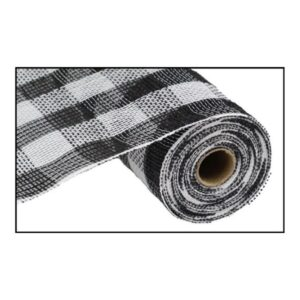"10.5""X10yd Cotton/Faux Jute Check Mesh"
