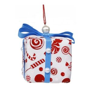"3.75"" Gift Box Ornament"