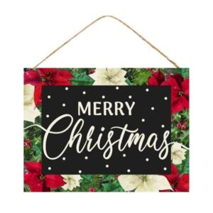 """15.75""""L X 11.75""""H Merry Christmas Sign"""